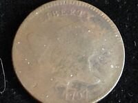 1797    HALF CENT     1  OVER 1   VARIETY      COHEN- 1