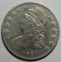 1831 CAPPED BUST HALF JH122