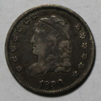 1830 CAPPED BUST HALF DIME JH66