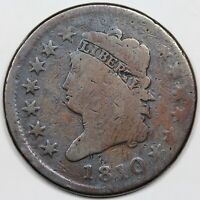 1810 CLASSIC HEAD LARGE CENT G  DETAIL