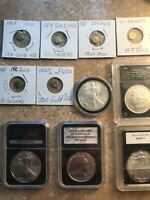 ESTATE FIND GOLD AND SILVER COIN COLLECTION RARE NO RESERVE
