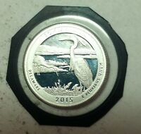 2015 S 25C BOMBAY HOOK NP   SILVER DC  PROOF  AMERICA THE BE