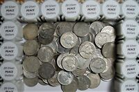20 PEACE SILVER DOLLARS NICE OLD COINS FROM ESTATE SALE INVE