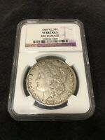 1889 CC MORGAN DOLLAR NGC VF DETAILS - CARSON CITY - KEY DATE- CERTIFIED SLAB -$