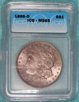 1888-O MINT STATE 65 MORGAN SILVER DOLLAR UNCIRCULATED UNC LOT 2