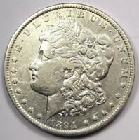 1894-P MORGAN SILVER DOLLAR $1 COIN 1894 - SHARP DETAILS -  KEY DATE