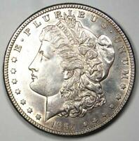 1894-S MORGAN SILVER DOLLAR $1 - CHOICE AU / UNCIRCULATED DETAILS -  DATE