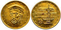 CZECHOSLOVAKIA  1974   ND  [ZK] AV 3PCS SET OF 1 3 5 MEDALLIC DUCATS NGC MS66 67