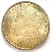 1902-O MORGAN SILVER DOLLAR $1 - ICG MINT STATE 66 -  IN MINT STATE 66 GRADE - $425 VALUE