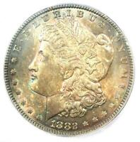 1882-P 1882 MORGAN SILVER DOLLAR $1 - ICG MINT STATE 65 -  IN MINT STATE 65 - $585 VALUE