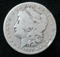 1885-S MORGAN SILVER DOLLAR  90 SILVER  GREAT FOR A BOOK  CLEAR DATE/MINT