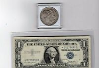 1881-P $1 MORGAN SILVER $1 & 1957 $1 SILVER CERTIFICATE STAR NOTE LOT OF 1 EACH