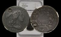 1794 FLOWING HAIR LARGE CENT S-41 NGC VF DETAILS