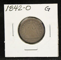 1842 O SEATED LIBERTY DIME IN GOOD CONDITION SD239