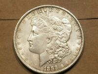 1889 P MORGAN SILVER DOLLAR VAM 5 FAR DATE LIBERTY HEAD $1 COIN HIGH GRADE NICE