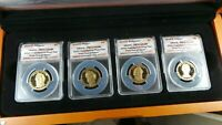 2010  FIRST DAY OF ISSUE  PRESIDENTIAL PROOF SET, ANACS - PR70 DCAM