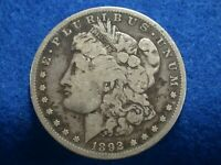 1892 S  MORGAN SILVER DOLLAR,LOT A-16