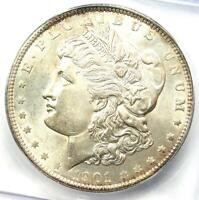 1901 MORGAN SILVER DOLLAR $1 COIN 1901-P - CERTIFIED ICG MINT STATE 60 DETAILS UNC BU