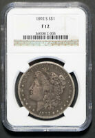 1892-S MORGAN SILVER DOLLAR