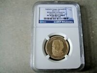 2012 S PROOF BENJAMIN HARRISON PRESIDENTIAL DOLLAR GRADED PF 70 U C BY NGC.