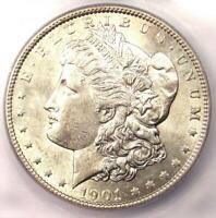 1901 MORGAN SILVER DOLLAR $1 1901-P - ICG MINT STATE 60 DETAILS UNC -  IN UNC
