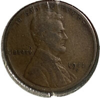 1911 S LINCOLN WHEAT CENT 1 CENT US COIN SI31