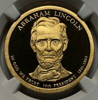 2010 S NGC PF69 ULTRA CAMEO  ABRAHAM LINCOLN 16TH US PRESIDENT PROOF DOLLAR $1