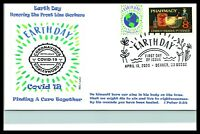 2020 EARTH DAY PANDEMIC VIRUS 19 THEME PHARMACY FRONT LINE RESPONDERS WILE CACHE