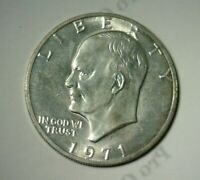 1971 S  SILVER EISENHOWER DOLLAR    NICE LOOKING COIN