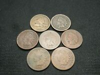 1858 FLYING EAGLE, 1861, 1863, 1865, 1873, 1874, 1875  LOWER GRADES OR ISSUES