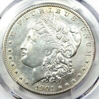 1901-S MORGAN SILVER DOLLAR $1 COIN - CERTIFIED PCGS AU DETAILS -  DATE