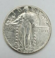 UNCIRCULATED 1928 PHILADELPHIA MINT SILVER STANDING LIBERTY