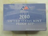 2010 S COMPLETE CLAD PROOF SET QUARTERS KENNEDY LINCOLN SACA