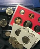 US COIN GRAB BAG W/ SILVER BU & PROOF INCLUDED   NO RESERVE