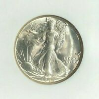1944-S WALKING LIBERTY SILVER HALF DOLLAR-NGC MINT STATE 65 NEVADA COLLECTION
