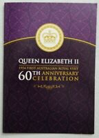 2014 QUEENS 1ST VISIT TO AUSTRALIA 60TH ANNIVERSARY SILVER P