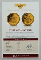 2012 THE SMALLEST GOLD COINS OF THE WORLD $5 CAPTAIN JAMES C