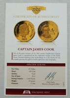 2013 THE SMALLEST GOLD COINS OF THE WORLD $1 FIRST MOON LAND