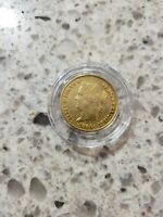 PHILIPPINES 1864 GOLD COIN 4 PESO NICE DETAILS KM 144