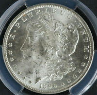 1890-S MORGAN DOLLAR MINT STATE 64 PCGS