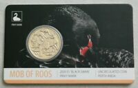 2020 MOB OF KANGAROOS DOLLAR   BLACK SWAN PRIVYMARK IN CARD