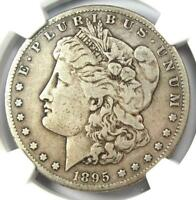 1895-S MORGAN SILVER DOLLAR $1 - NGC F12 FINE -  DATE CERTIFIED COIN