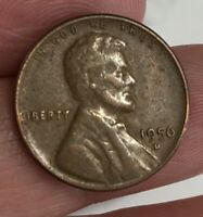 1956 D WHEAT CENT COIN PERFECT GIFT