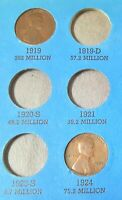 1919 1924 WHEAT LINCOLN PENNIES - - SEE PHOTO