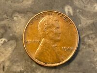 1945-D LINCOLN PENNY ERROR. MINTMARK PLACEMENT SEE MY OTHER ERRORS