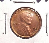 VF IN GRADE 1951D LINCOLN WHEAT CENT