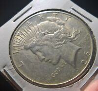 UNITED STATES 1926 S PEACE DOLLAR SILVER COIN GREAT DETAILS -  C14
