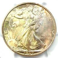 1939-S WALKING LIBERTY HALF DOLLAR 50C COIN - CERTIFIED PCGS MINT STATE 67 - $1,250 VALUE