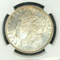 1878 7/8TF VAM45  NGC MINT STATE 62 MORGAN SILVER DOLLAR - GENE L HENRY LEGACY COLLECTION