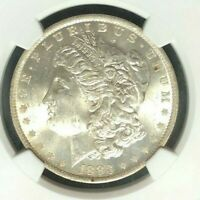 1883 O/O VAM 4 NGC MINT STATE 63 MORGAN SILVER DOLLAR-GENE L.HENRY LEGACY COLLECTION